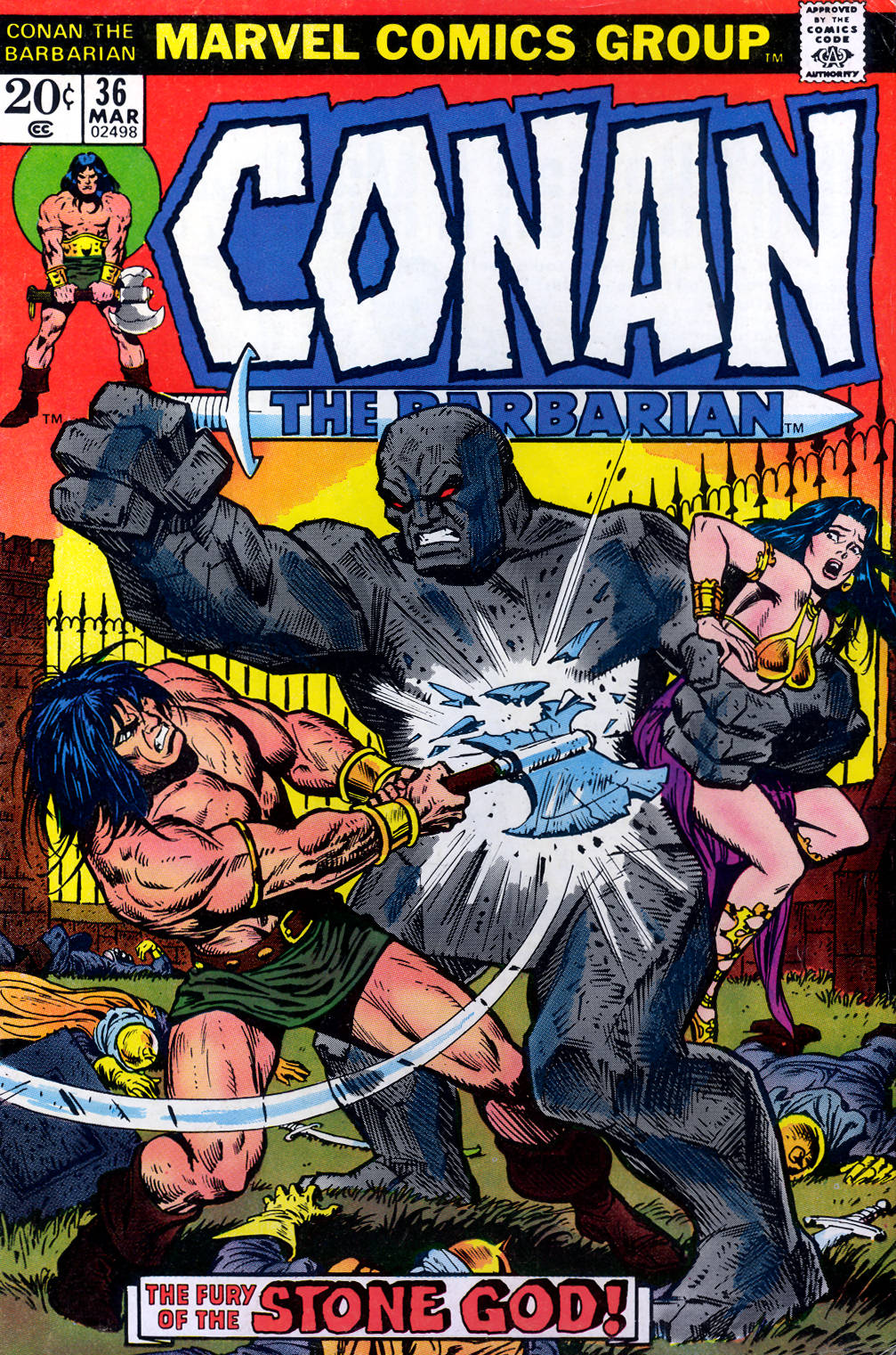 Conan the Barbarian (1970) Issue #36 #48 - English 1