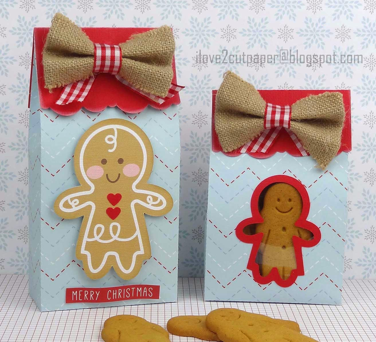 Resized gift bags for Christmas gifts