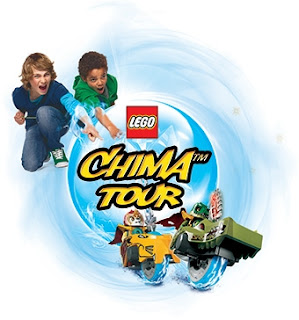 La tournée des plages LEGO® CHIMA™ Tour