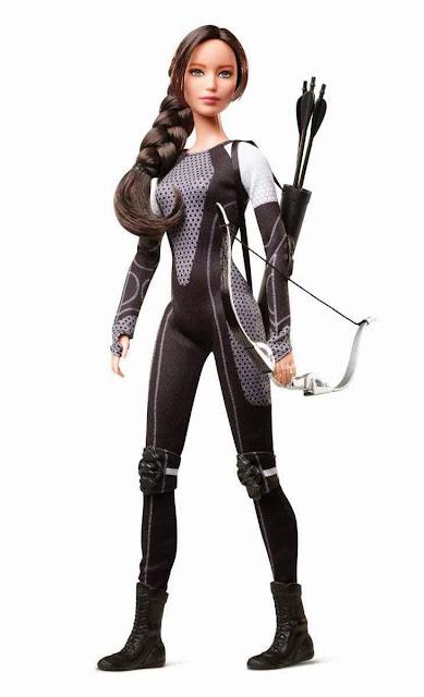 Muñeca Barbie Katniss Los Juegos del Hambre