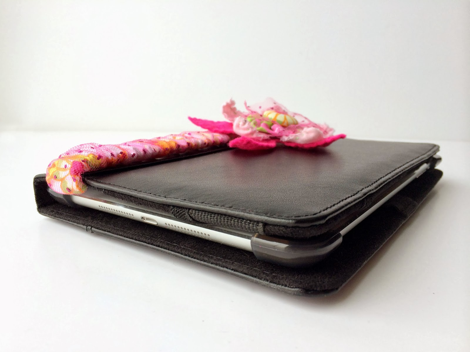 Embellished Tablet Cover by Posh Pink Giraffe