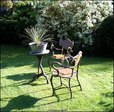 paradis express xavier dumont sculpteur de folies de jardin. Black Bedroom Furniture Sets. Home Design Ideas