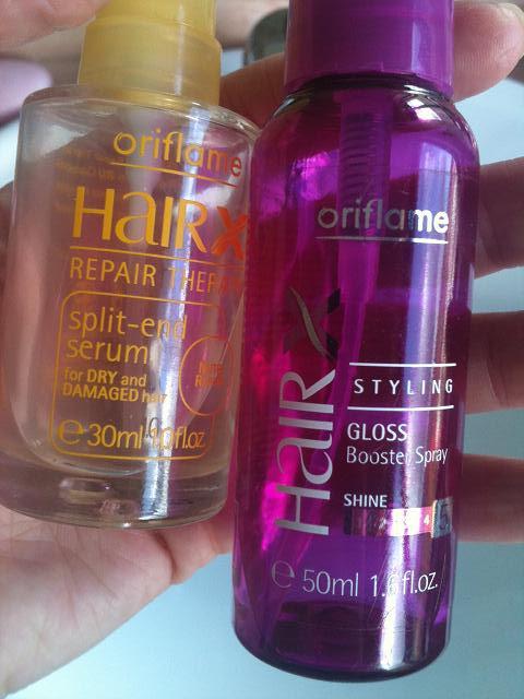 produtos para o cabelo