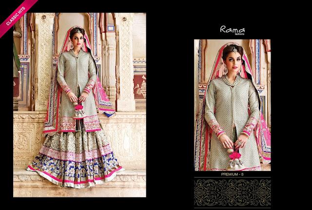 Rama – Latest Party Wear Designer Lehenga Choli