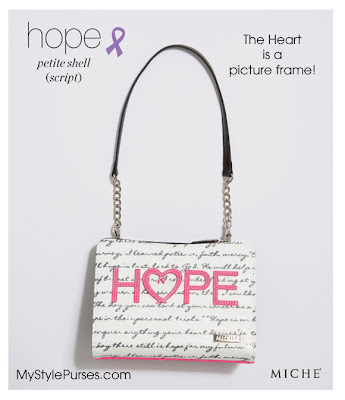Miche Hope Script Petite Shell for Autism