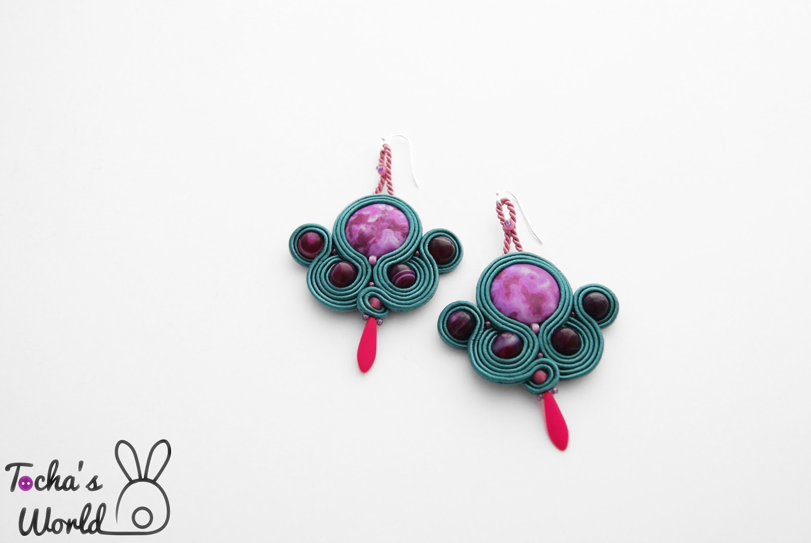 soutache, vegan, Tocha's World