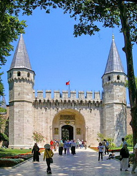 Tempat wisata terkenal di Turki istambul Istanbul istana topkapi  palace