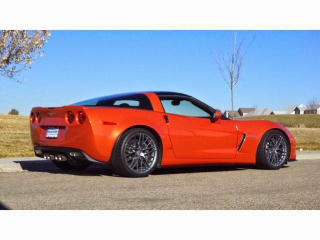 2011 Chevrolet Corvette Z06 Inferno Orange
