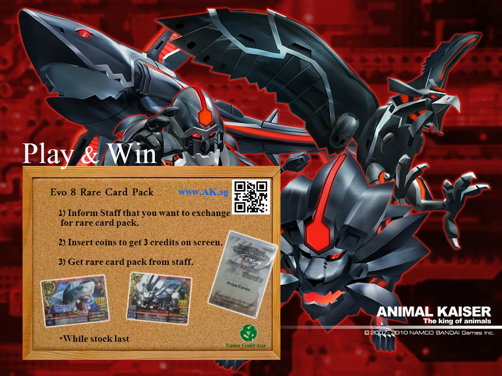 Have You Collected All The Evo 8 Super Rare Card Campaign Cards Are A New Animal Kaiser Players And Just Started Your Journey To Collect Awesome