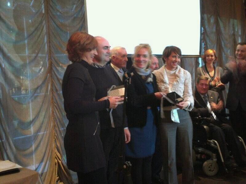 Entrega de premios fegradi 2013
