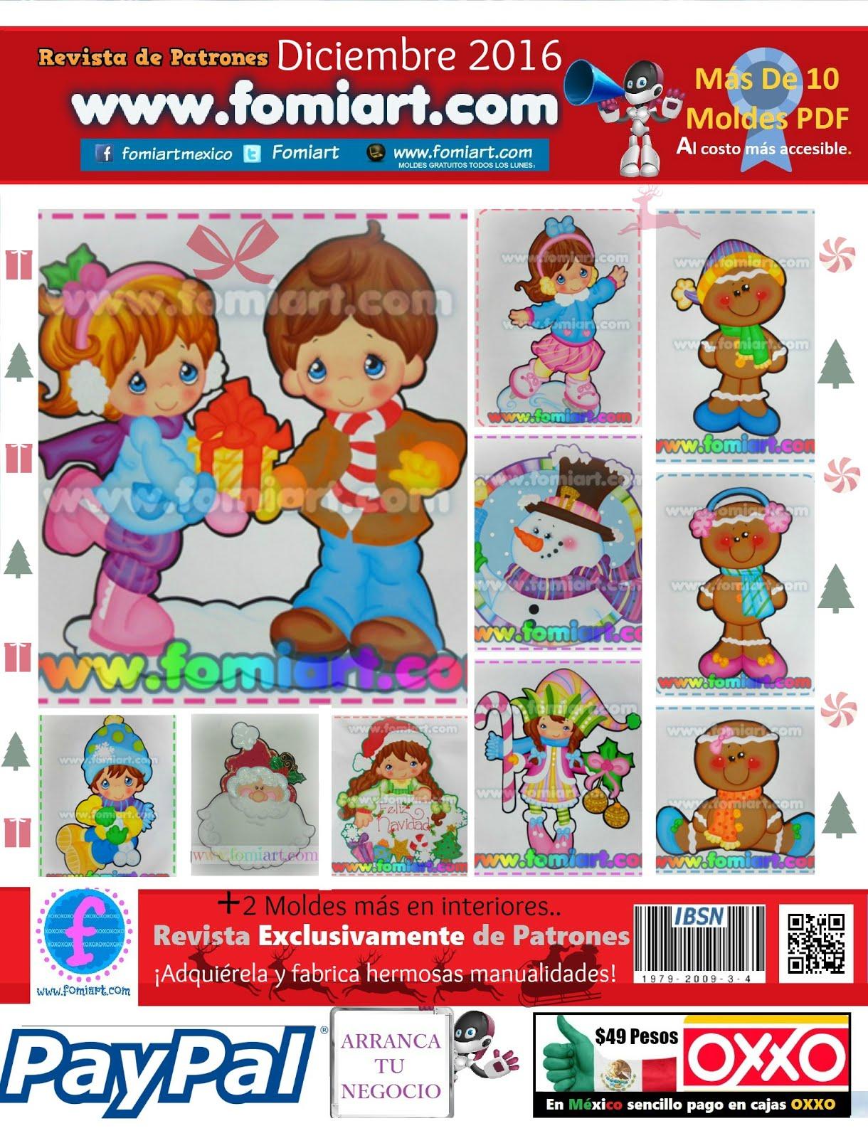 Revista de Moldes Diciembre Fomiart 2