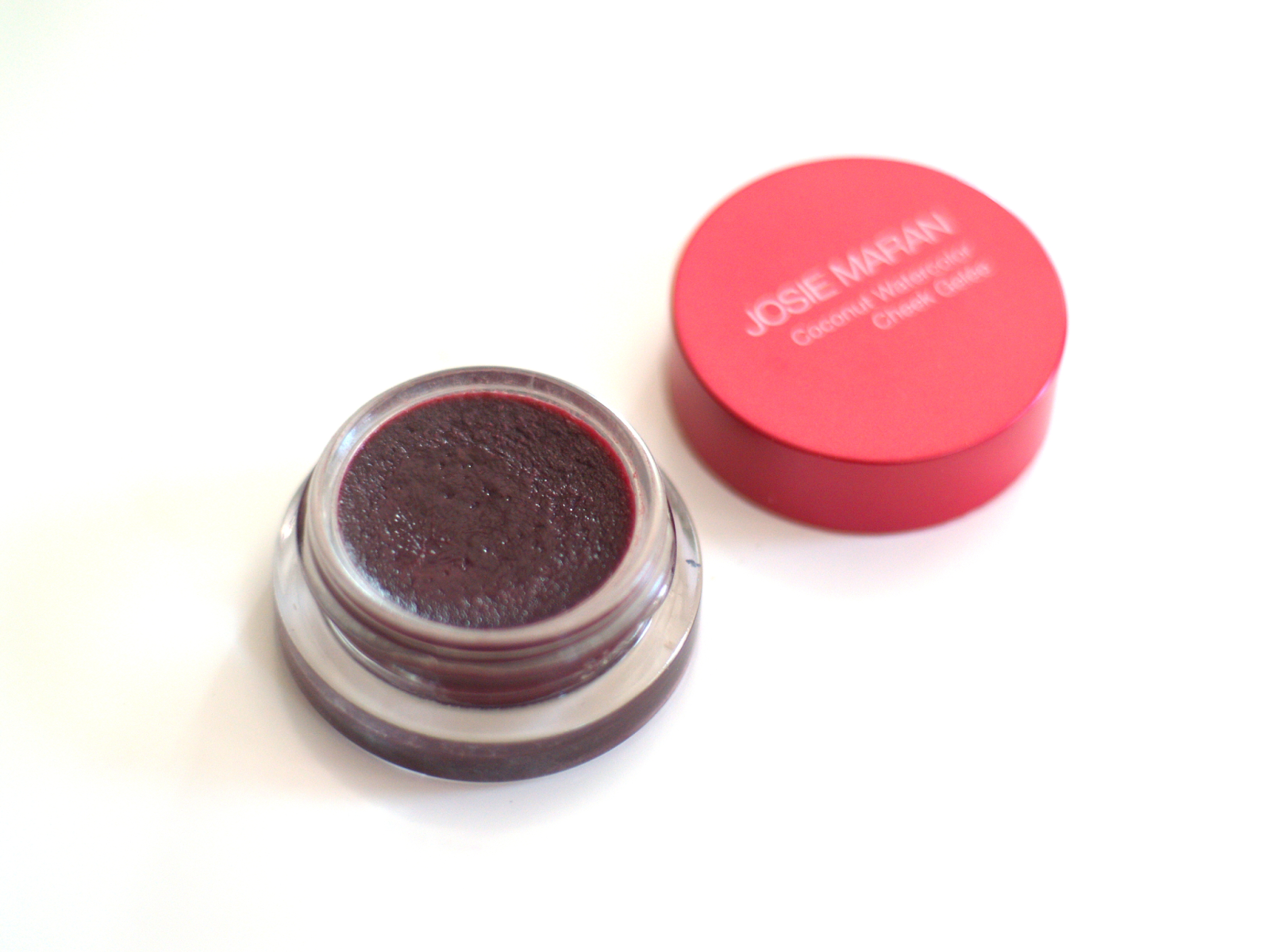 Josie Maran Coconut Watercolor Cheek Gelée in Berry Bliss