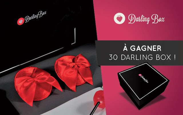 30 coffrets Darling Box