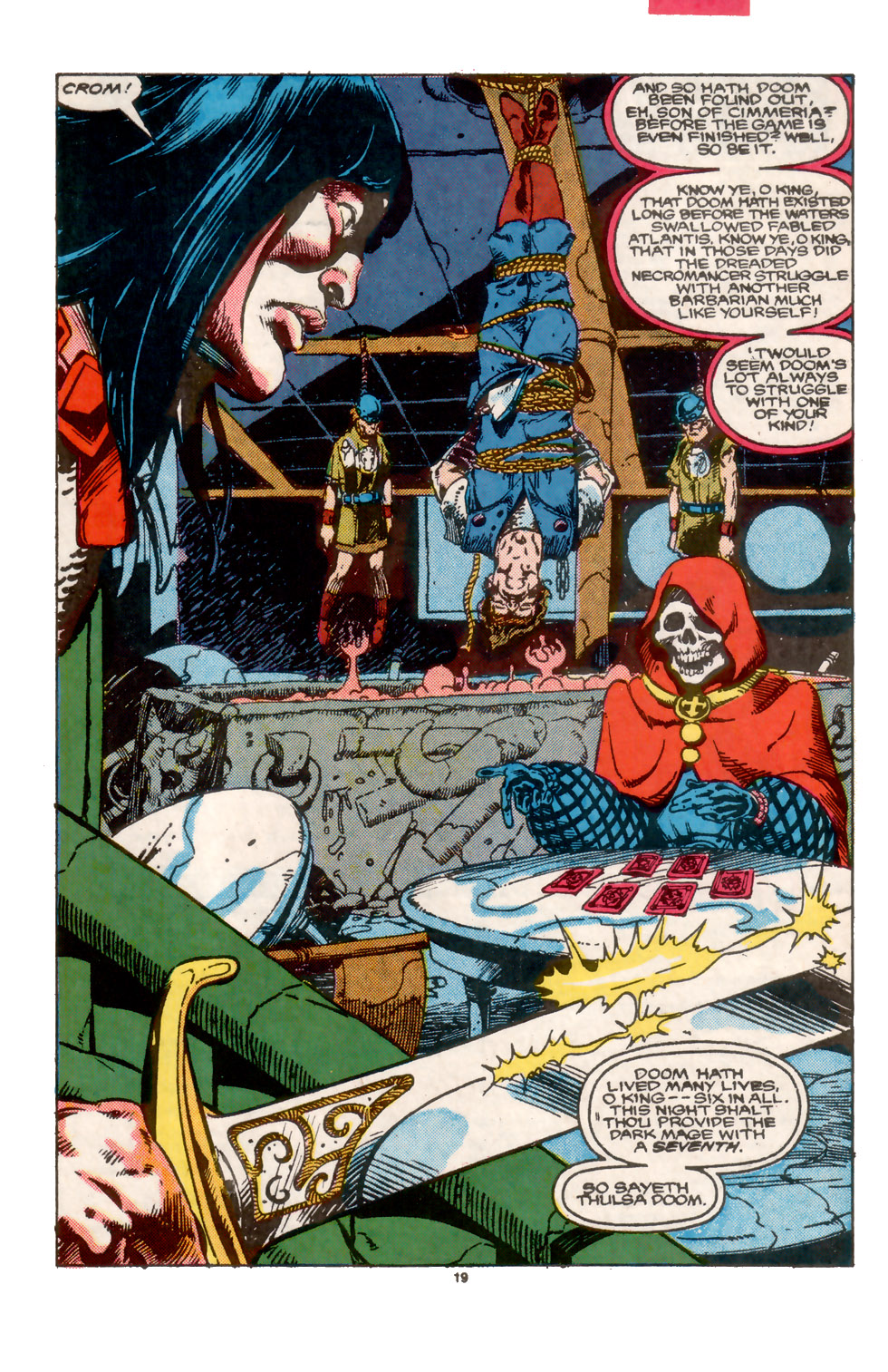 Conan the Barbarian (1970) Issue #202 #214 - English 20