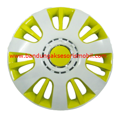 Dop Roda White+Yellow WJ-5065 (13)