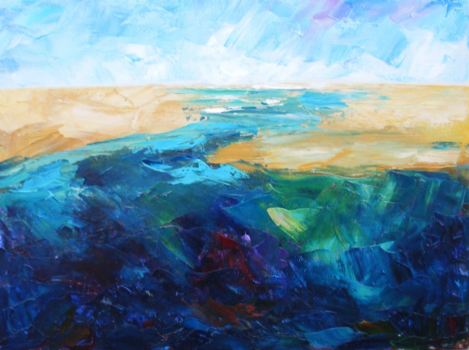Kay Wyne Fine Art Blog Palette Knife Landscape