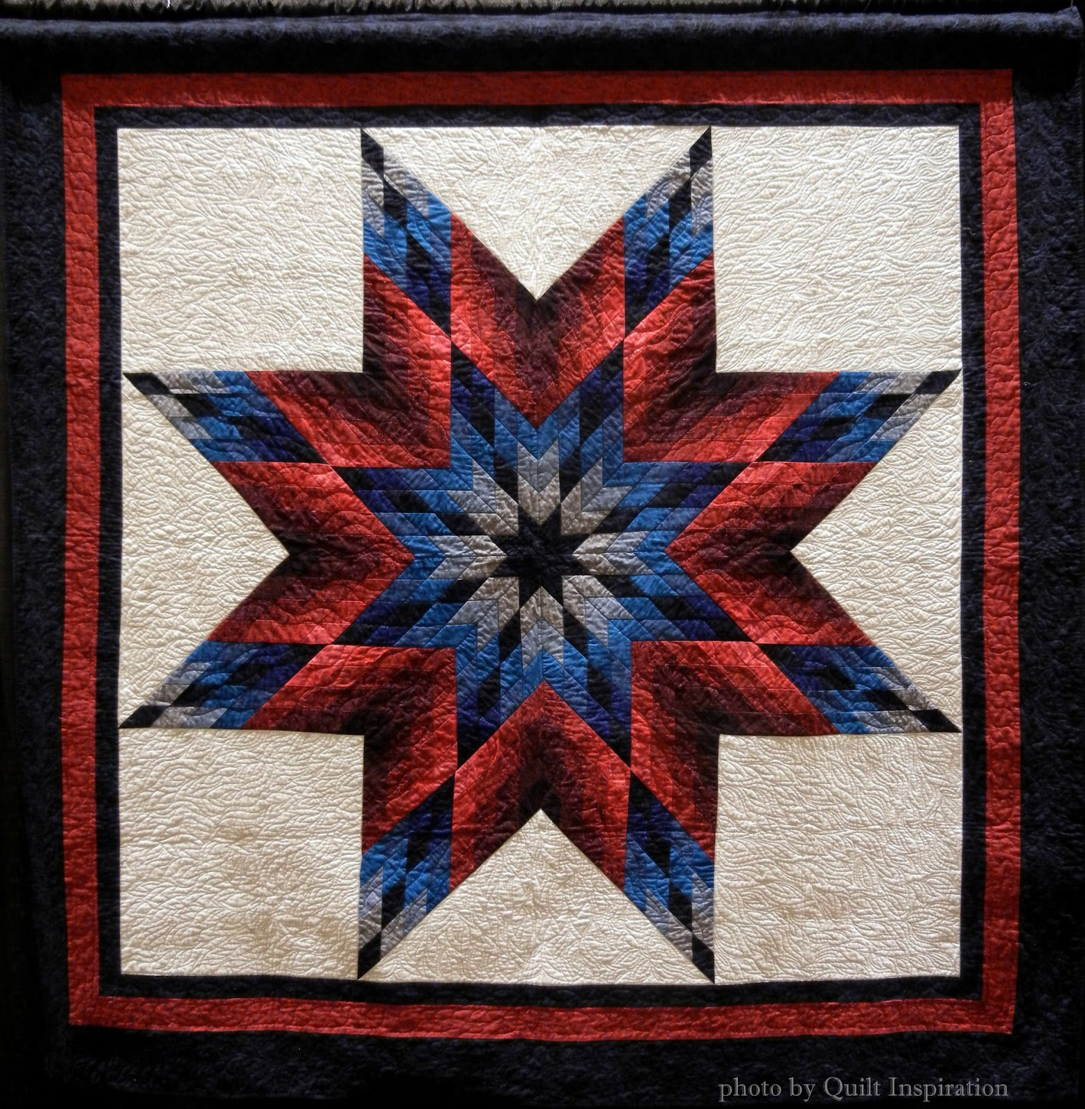 Quilt Inspiration: Lone Star Salute : lone star house of quilts - Adamdwight.com