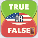 True or False - US Edition App iTunes App Icon Logo By Games for Friends GmbH - FreeApps.ws
