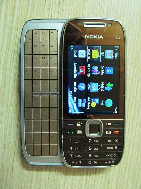 Nokia E75 giá 1 triệu | Nokia E75 nguyên bản 3G wifi giá tốt nhất Hà Nội | Điện thoại cũ giá rẻ Hà Nội