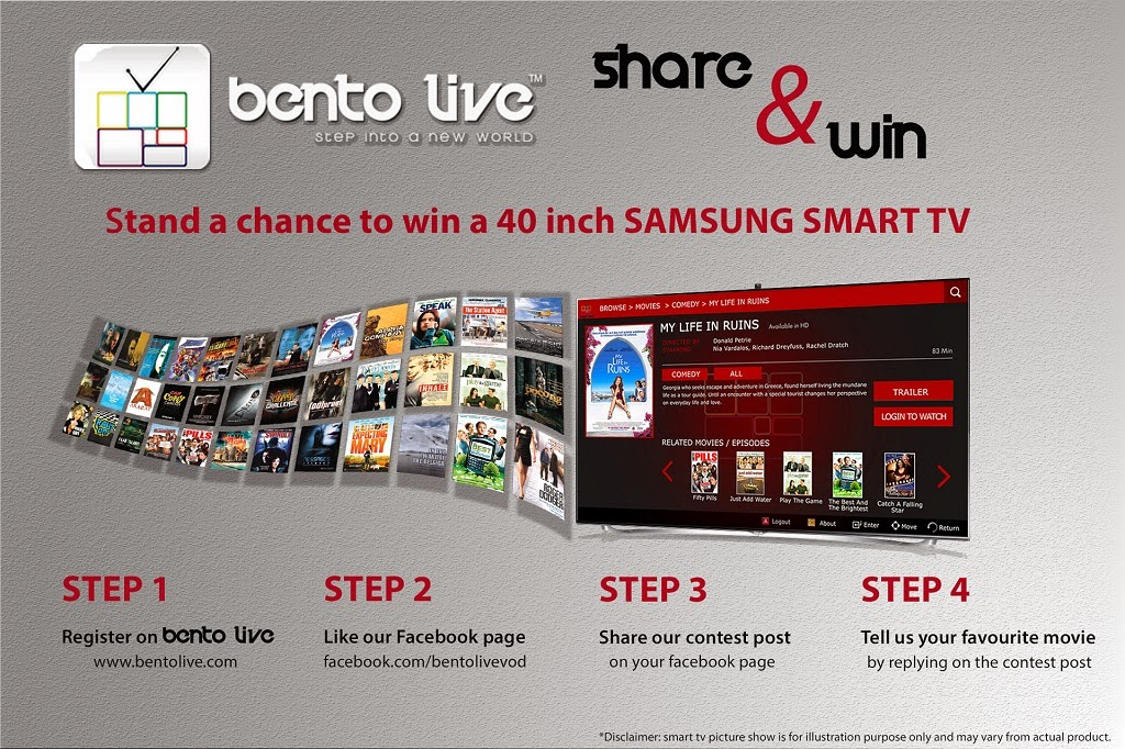 Bento Live Share & Win Contest