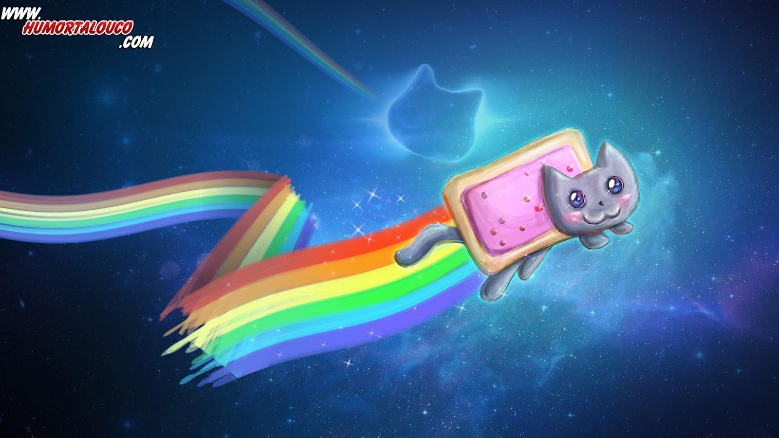 Wallpaper Memes: Nyan Cat - HumorTaLouco.com