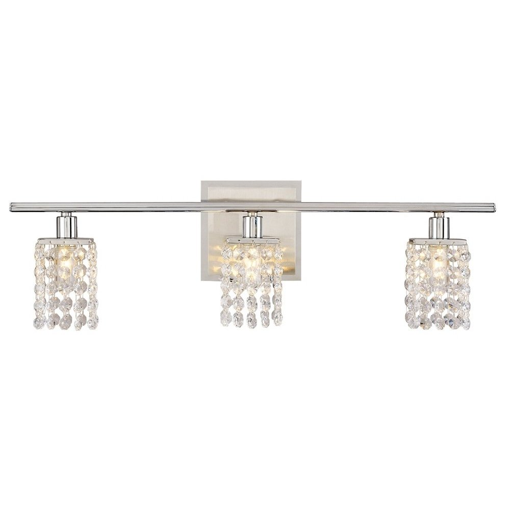 Diy Vanity Light Bar Shade : DIY crystal vanity shades - Cuckoo4Design