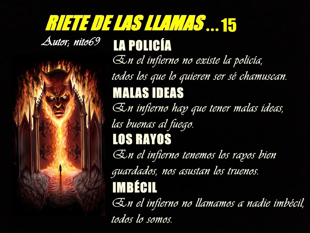 RIETE DE LAS LLAMAS…15