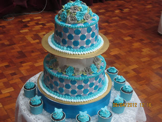 WEDDING CAKE PACKAGE 2 (TIER)