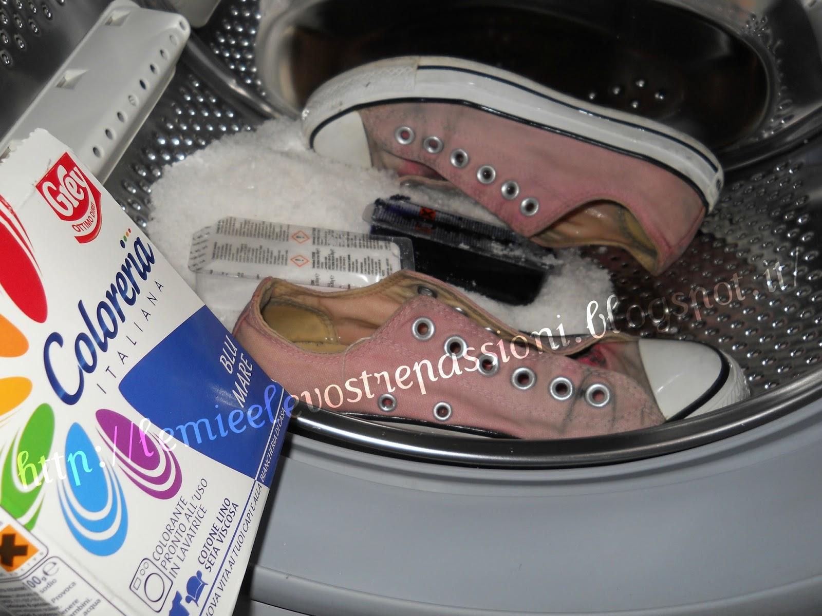 La coloreria rovina la lavatrice