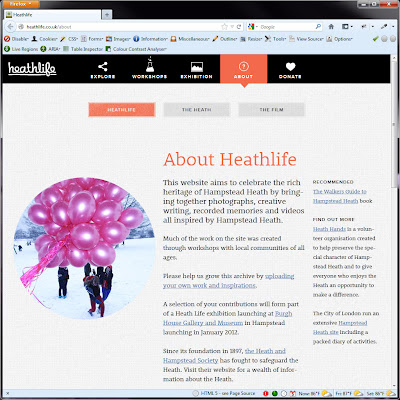 Screen shot of http://heathlife.co.uk/about.