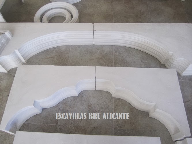 Escayolas bru alicante arcos for Moldes hormigon impreso leroy merlin