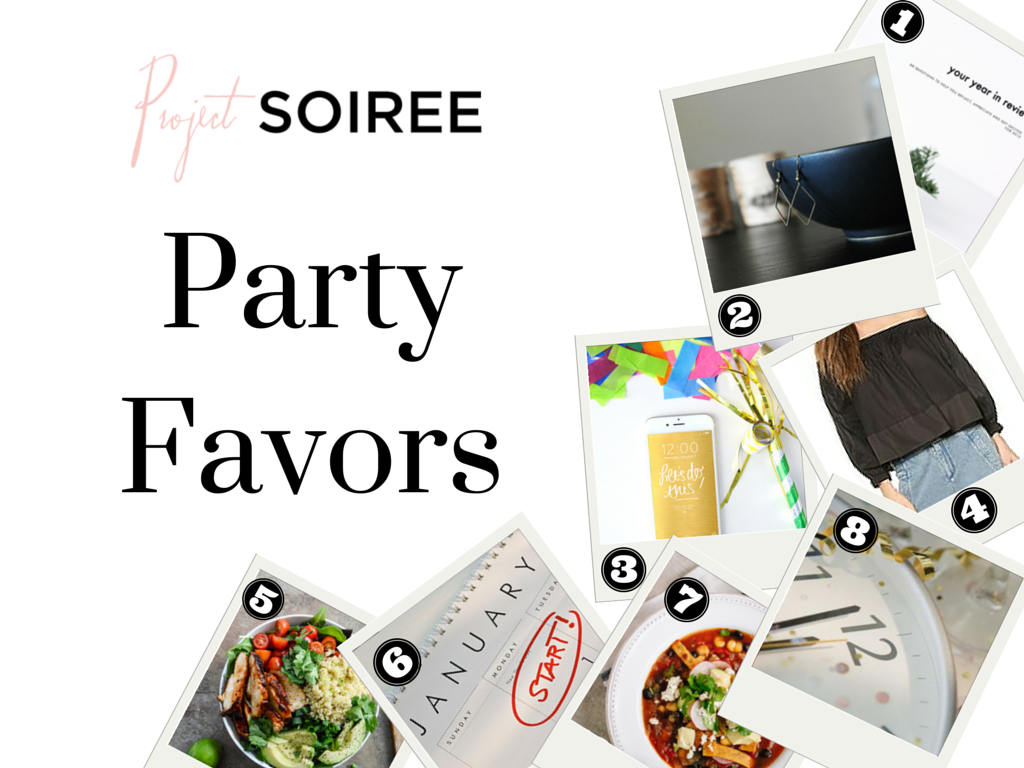 Project Soiree, Links, Party Favors