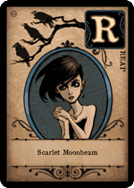 Scarlet Moonbeam card