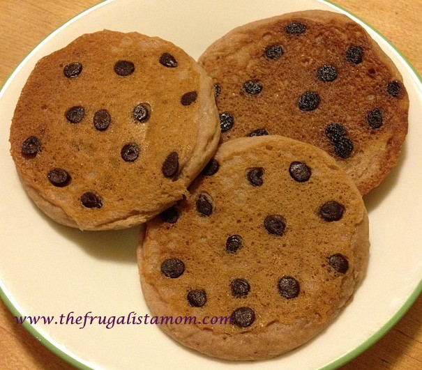 Two Ingredient Double Chocolate Pancakes Gluten Free