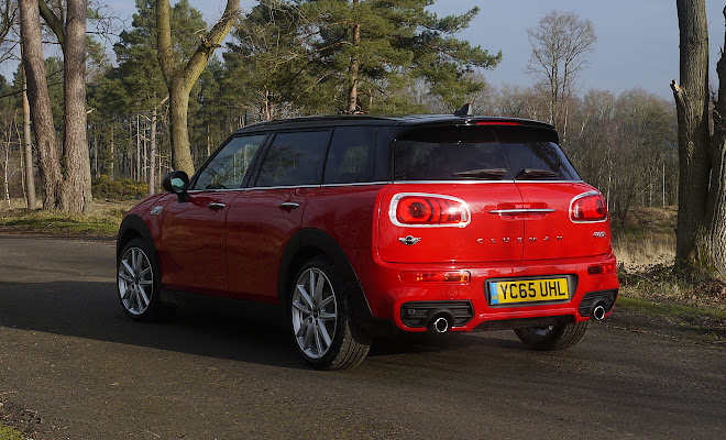 Mini Clubman rear view