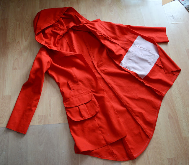 [Nähen] WIP - Roter Mantel Finale