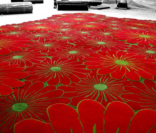 alfombras de flores | Dale color a tu casa con Piodao