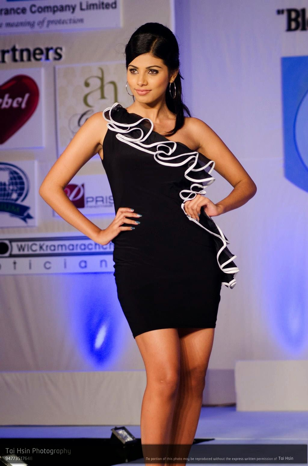 Tanasha Hatharasingha black