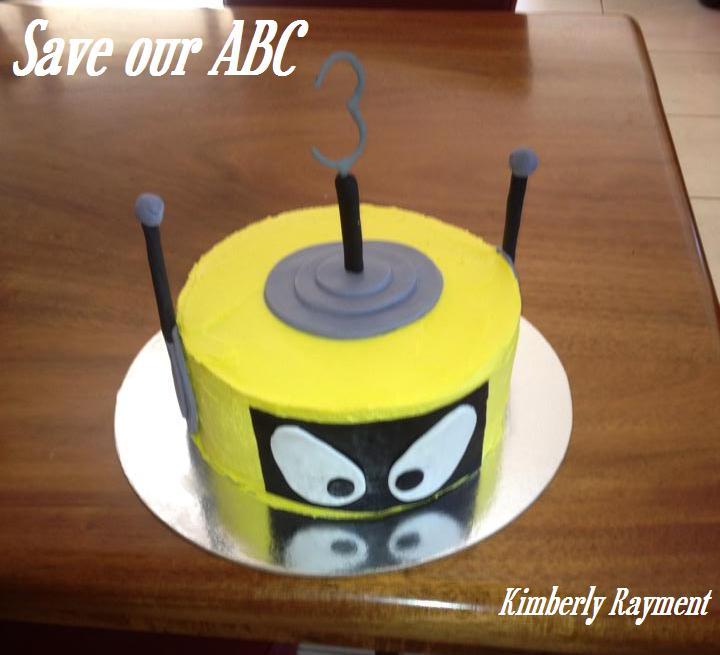 Yo Gabba Gabba Cake Save Our ABC