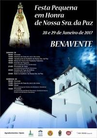 Benavente- Festa em Hª de Nª Srª da Paz 2017- 28 & 29 Janeiro