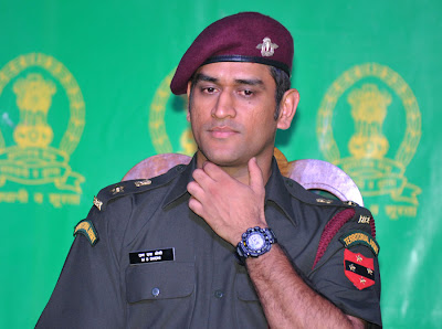 India Captain MS Dhoni joins Territorial Army as Lt Colonel