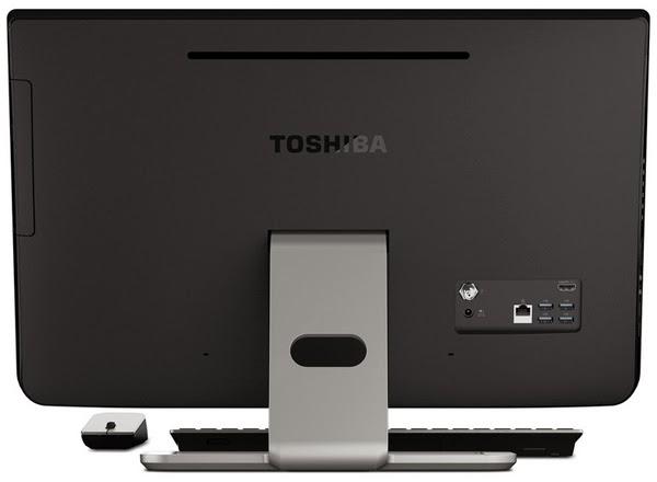 задняя сторона моноблока Toshiba PX35t
