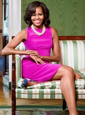 Michelle Obama en sesioón de foto
