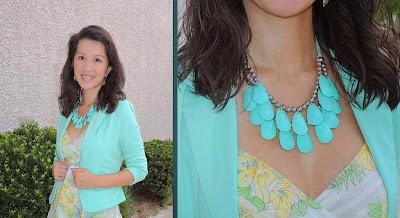 Mint  | Necklaces for Charity | blog.sassyshortcake.com
