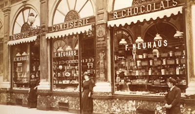 Neuhaus invention praline chocolat belge