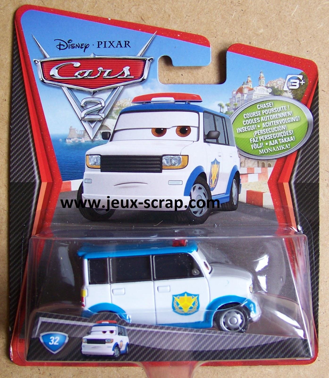 Blog boutique jouets jeux scrap nouvelles voitures cars 2 - Voiture the cars ...