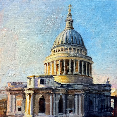 St.Paul's IV by Liza Hirst
