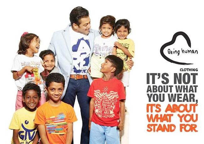 Salman Khan Being Human Images