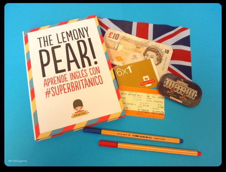 The Lemony Pear! #SuperBritanico libro para aprender inglés con humor