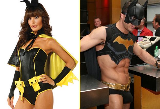 costume batman homme et femme